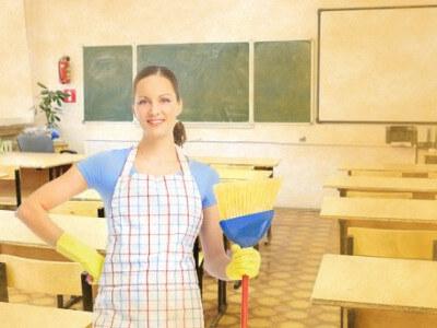 School Cleaning in Kelowna